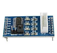 Плата драйвера шагового двигателя ULN2003 для Arduino (5 В, 4 фазы, 5 линий)