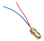 6mm 3V 5mW Laser Dot Diode Module Head WL Red 650nm