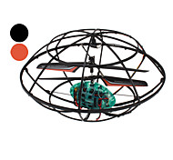 3.5-Channel 3D Omni-Direction RC UFO Helicopter with Gyro and LED