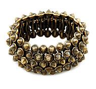 style rétro bracelet exagérée tronçon rivet
