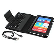 Tastiera bluetooth 3.0 con custodia per Samsung Galaxy Tab 7 Plus P6200 - Nero