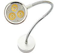 3W 180-200lm 3000-3300K luce bianca calda a LED da parete Faretto Lampada Vino Armadietto a specchio (AC85-265V)