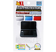 Screen Protector with Cleaning Cloth for 3DS XL (Red)