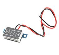 3.3V ~ 30V coche eléctrico motorizado Tensión Display Board (Negro)