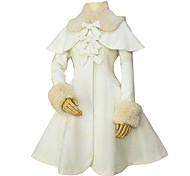 Long Sleeve Pink Velvet Classic Lolita Coat