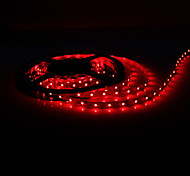 5M 5W 300x3528 SMD Red Light Flexible LED Strip Lamp (DC 12V)