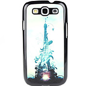 For Samsung Galaxy Case Pattern Case Back Cover Case Eiffel Tower PC Samsung S3