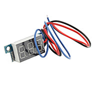 3-Digit Voltmeter pour la moto électrique (0V ~ 99.9V)