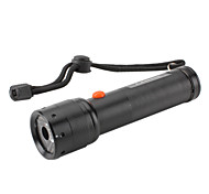 LS108 1-Mode Cree LED Flashlight with Glass Lens (180LM, 3xAAA)