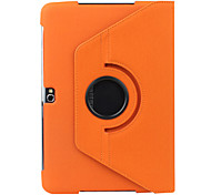 360 Degree Rotating Protective Case with Stand for Samsung Galaxy Note 10.1 N8000