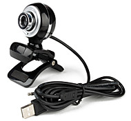 Os Littles Desktop 5.0 Megapixels USB 2.0 Clip-on câmera webcam com microfone PC