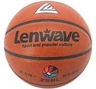 Orange PVC+Butyl Inner 7 Size Basketball 0.635KG