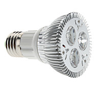 3W E26/E27 LED Spotlight MR16 3 High Power LED 310 lm Natural White Dimmable AC 85-265 V
