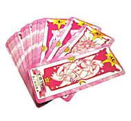 Cards Set Inspired by Cardcaptor Sakura Magical Mahou Sakura (52 pieces)