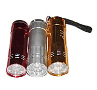 Household LED Stainless Steel Portable Mini Flashlight