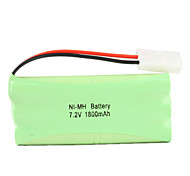Ni-MH AA Battery with 6.2 Port (7.2v, 1800 mAh)