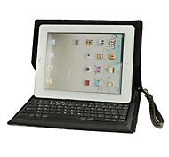 Bluetooth Keyboard Folding Leder-Schutzhülle für das neue iPad