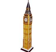 48 Pieces DIY Architecture 3D Puzzle British Big Ben Elizabeth Tower (difficulty 4 of 5)