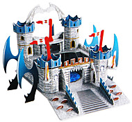 49 Pieces DIY Architecture 3D Puzzle Fantasy Castle Cdifficulty 3 of 5)