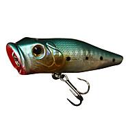Hard Bait / Crank 1 pcs g Ounce mm inch Green / Pink / Yellow / Red / Blue Hard Plastic Sea Fishing / Freshwater Fishing / Bass Fishing