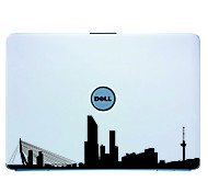 Laptop Skin Cover Art Rotterdam Decal Sticker para MacBook Air Pro / Dell / HP / Compaq / Acer / Lenovo / Sony (Negro)