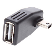 Mini USB Male to USB Female Adapter