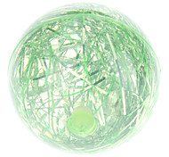 LED Flashing Bounce Ball with Light Effect (Green)