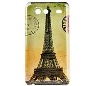 Carcasa Dura Postal de la Torre Eiffel para el Samsung Galaxy S Advance I9070