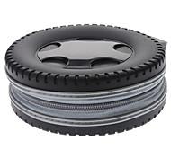 Car Tire Design 40pcs CD Holder Storage Bag (Random Color)
