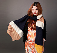 Deniso—Women's Hand Woven Warm Scarf(Red and Yellow)