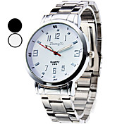 Men's Dress Watch Fashion Watch Wrist watch Quartz Alloy Band Silver