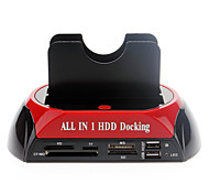 "All-in-1 2,5 ""3,5"" IDE / SATA / eSATA HDD Docking mit Kartenleser"
