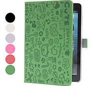Estuche de Garabatos en Cuero PU con Soporte para el iPad Mini - Colores Surtidos