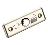Stainless Steel Exit Button A