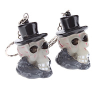 Witch Keychain with Light and Sound Effect (2-Pack)
