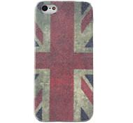 Retro Style UK National Flag Pattern Hard Case for iPhone 5/5S