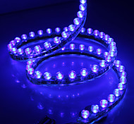 Waterproof 120cm 120-LED Blue LED Strip Light for Car (12V)