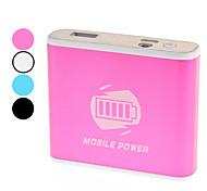 Мобильные электростанции для цифровых продуктов (разные цвета, 6800 мАч)