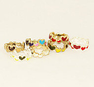 Colorful Heart Surround Ring