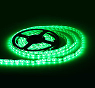 Resistente al agua 5M 300x5050 SMD LED Strip Light Green lámpara (12V)