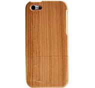 Modèle Simple Case amovible en bois pour iPhone 5