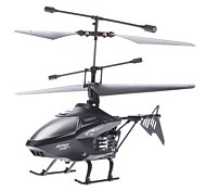 Palm Grootte Gyro 2.4G i-Control Helicopter met Licht (Zwart, Model: HCW547)