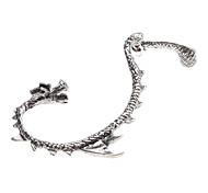 z&x® forme de dragon style vintage boucle d'oreille