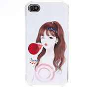 Girl Style Hard Case for iPhone 4/4S
