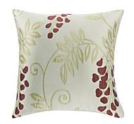 Jacquard Grape Decorative Pillow Cover