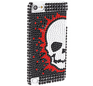 Rhinestones Style Skull Pattern Hard Case for iTouch 5