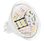 LED a pannocchia 54 SMD 3528 MR16 GU5.3(MR16) 4W 260 LM Bianco caldo / Luce fredda DC 12 V