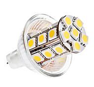 5W GU4(MR11) LED a pannocchia MR11 27 SMD 5050 420 lm Bianco caldo / Luce fredda DC 12 V