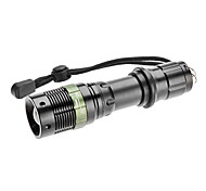 s809 zoom de 3 modos del CREE XR-E Q5 llevó la linterna (200lm, 1x18650)