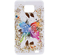 Butterfly Design Soft Case für Samsung Galaxy S2 I9100